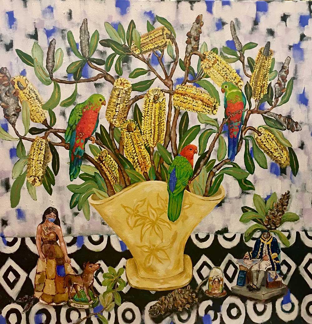 This is the title - Deanne gilson artist australia